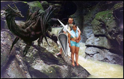 Черный дракон JPEG